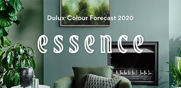Dulux Colour Forecast 2020 Website banner for GB6
